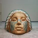 「祈り」木、金属 久保 寛子 2009